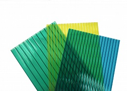 цветной поликарбонат для теплиц